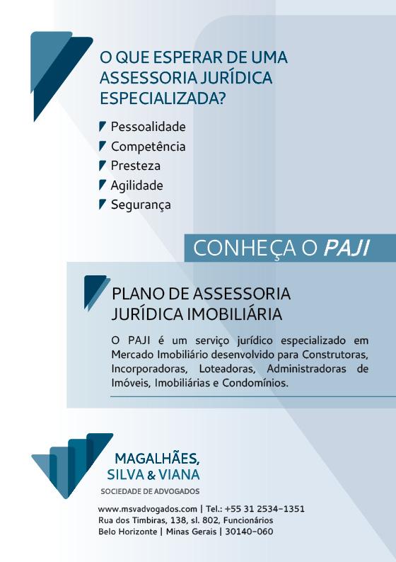 PLANO DE ASSESSORIA JURÍDICA IMOBILIÁRIA